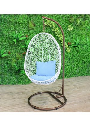 Pendant Bird Nest Pod Chair-White #92