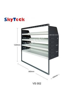 Van shelving Guard 4 Shelf Trays Steel Racking Storage VS002