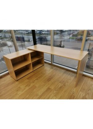 Brand New Simple L Shaped Corner Computer Desk