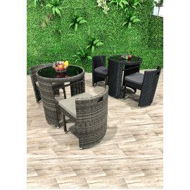 Terrace 3 piece Outdoor Circular Dining